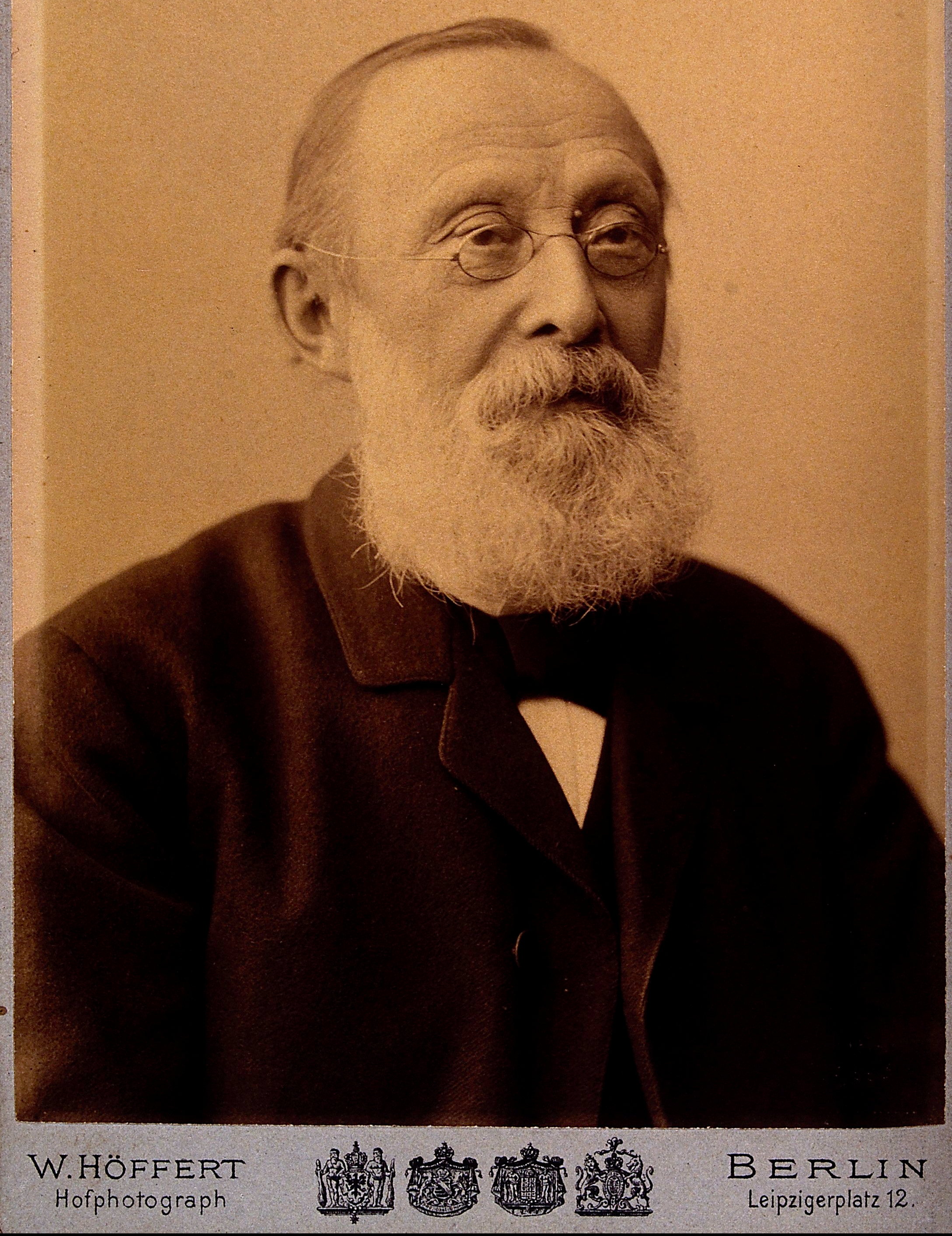 Rudolph Virchow M.D., father of modern pathology and founder of social medicine